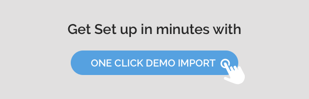 One Click Demo Import